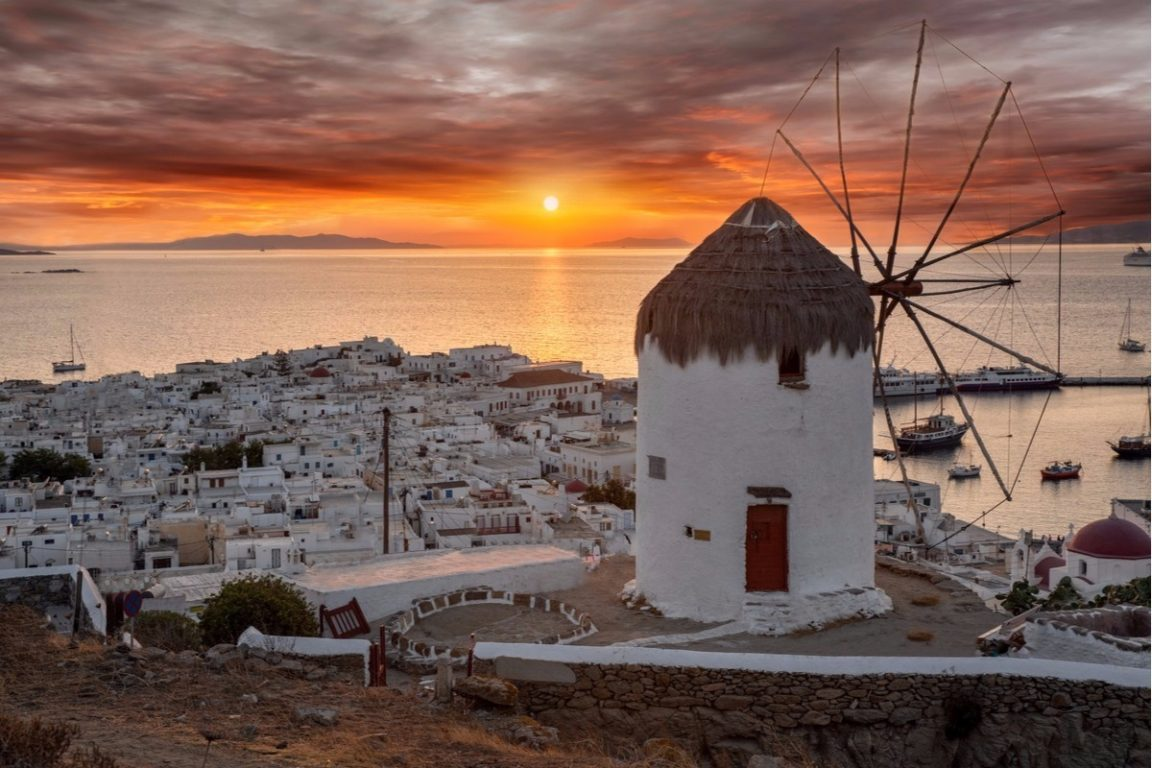 Why August is the best month to visit Mykonos